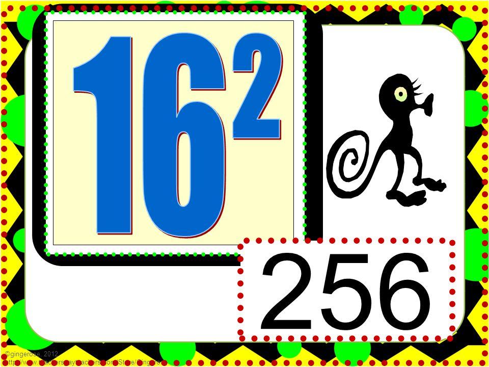 256 ©gingerose, 2012 http://www.teacherspayteachers.com/Store/Gingerose