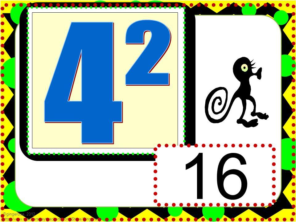 16 ©gingerose, 2012 http://www.teacherspayteachers.com/Store/Gingerose