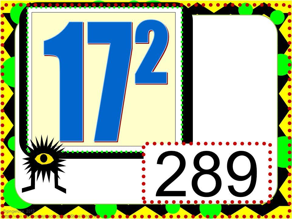 ©gingerose, 2012 http://www.teacherspayteachers.com/Store/Gingerose 289