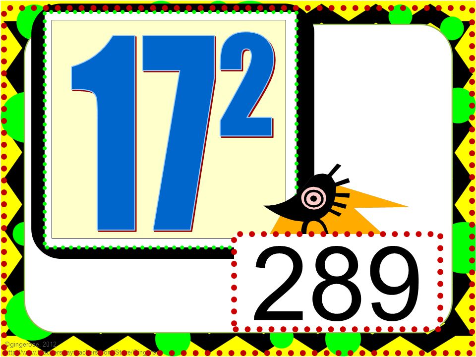 49 ©gingerose, 2012 http://www.teacherspayteachers.com/Store/Gingerose