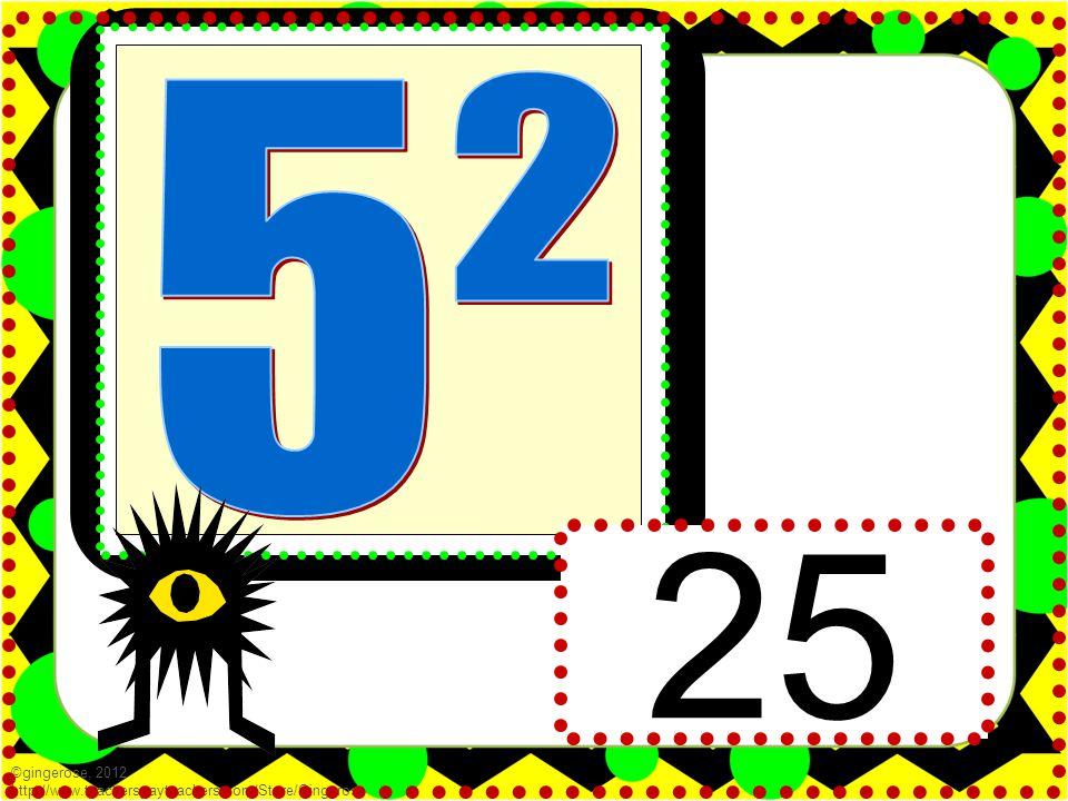 25 ©gingerose, 2012 http://www.teacherspayteachers.com/Store/Gingerose