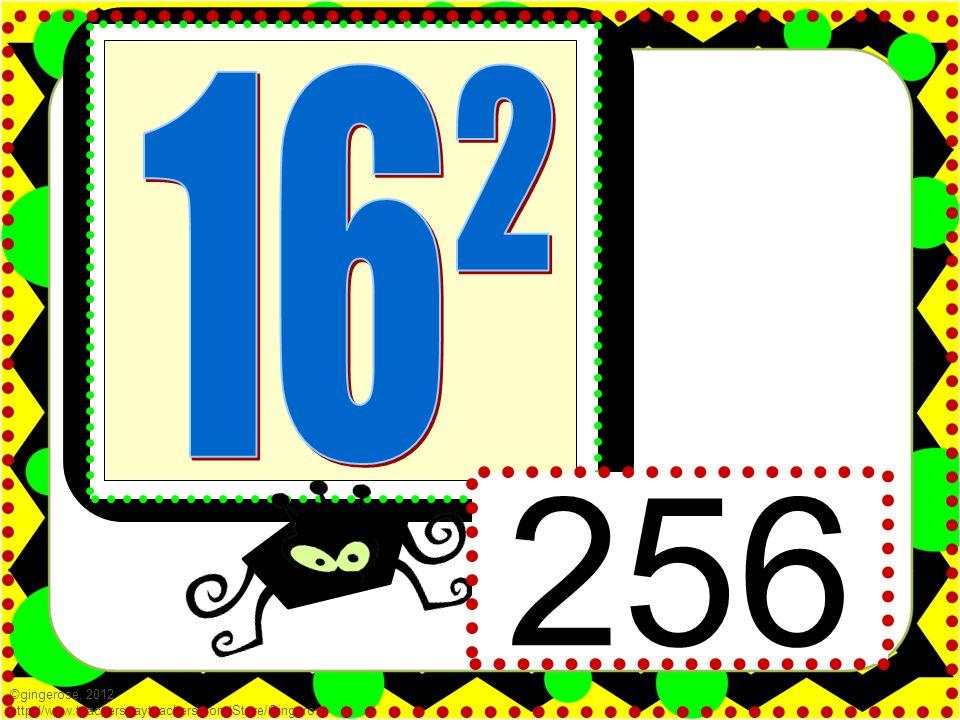 ©gingerose, 2012 http://www.teacherspayteachers.com/Store/Gingerose 256