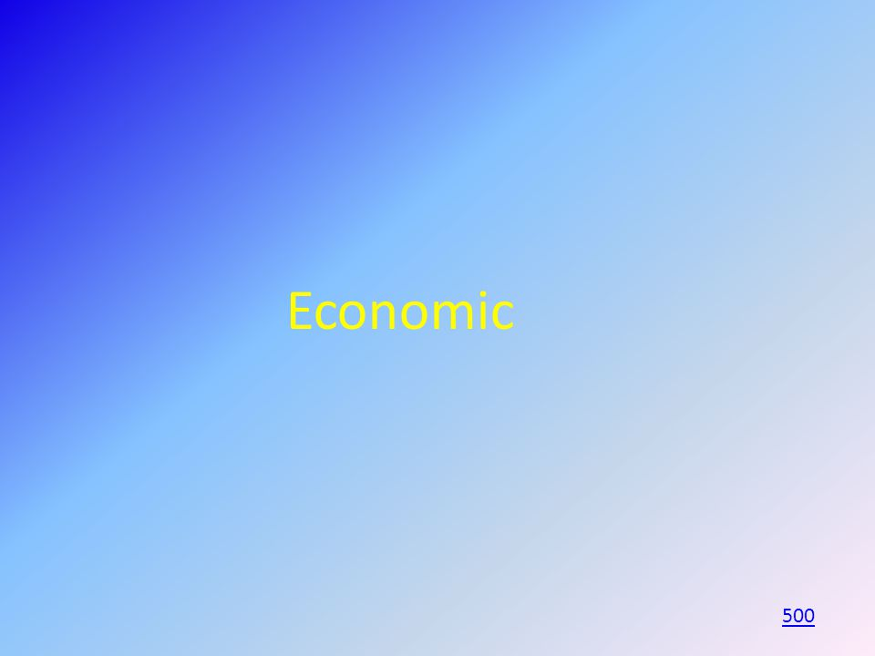 Economic 500