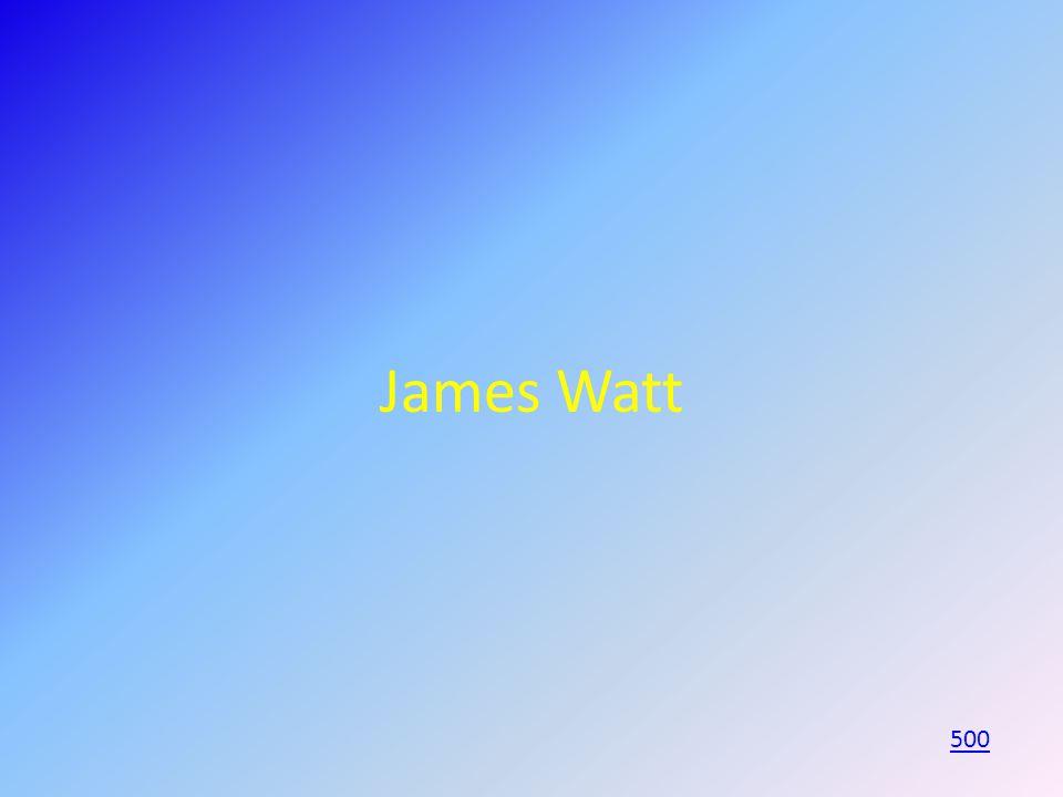 James Watt 500