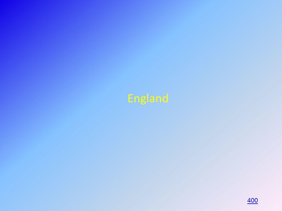 England 400