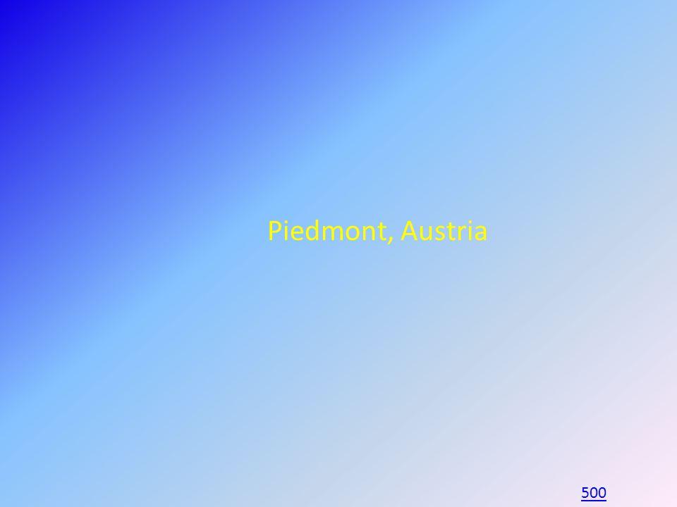 Piedmont, Austria 500