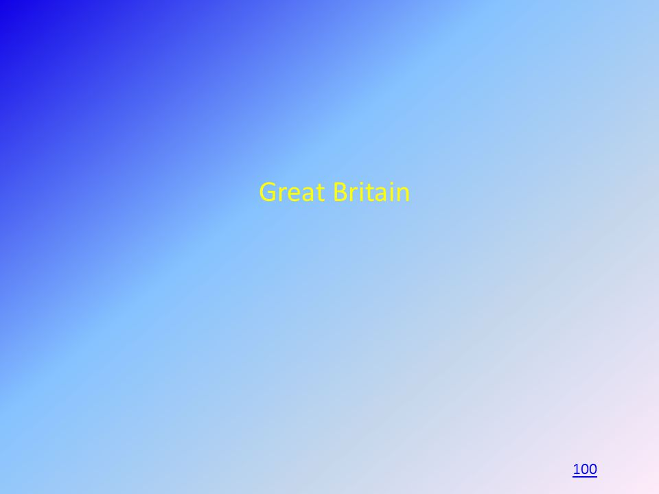 Great Britain 100