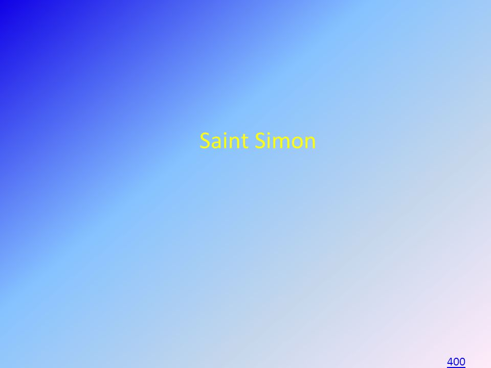 Saint Simon 400