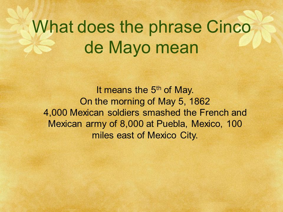 Why is it an important day in Mexican history It is day that Mexico declared its independence from mother Spain on midnight, the 15th of September, 1810.
