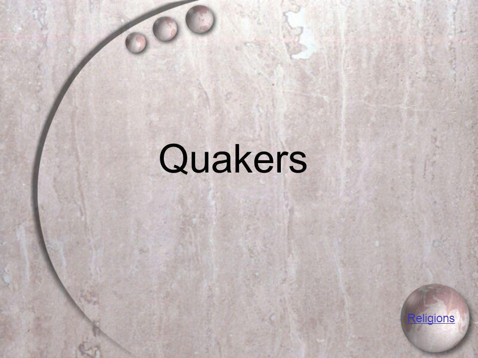 Quakers Religions