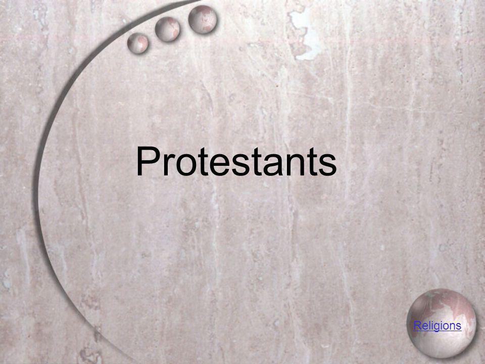 Protestants Religions