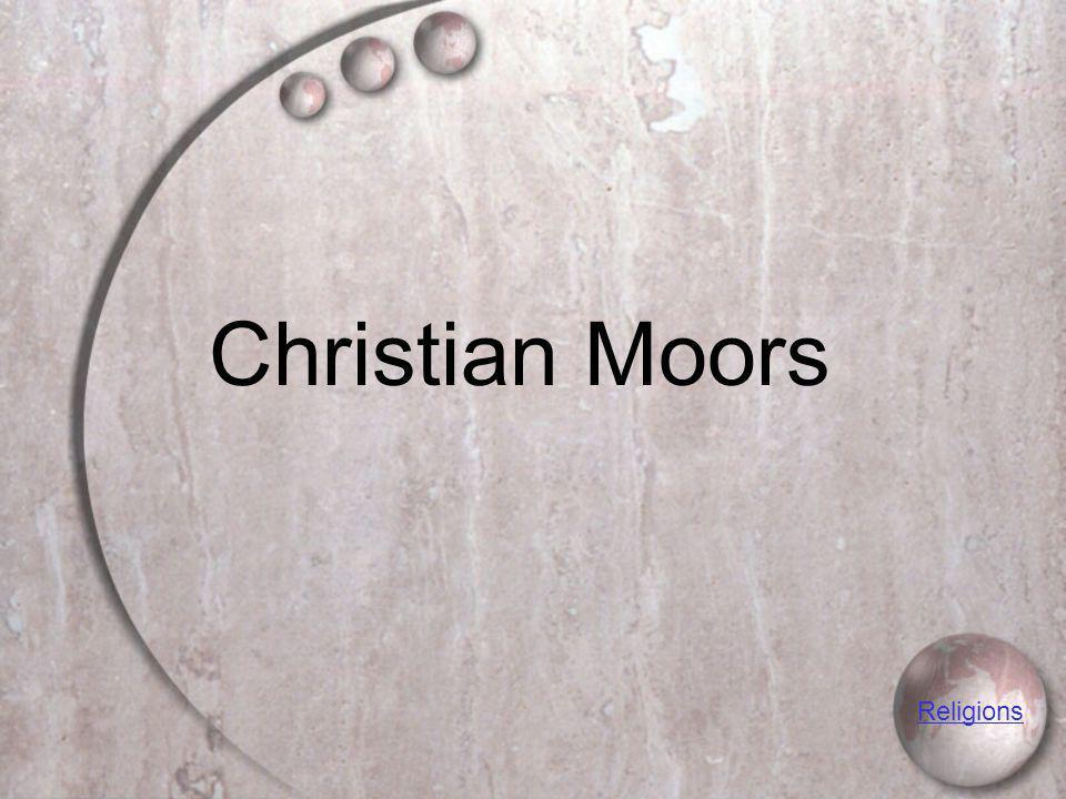 Christian Moors Religions