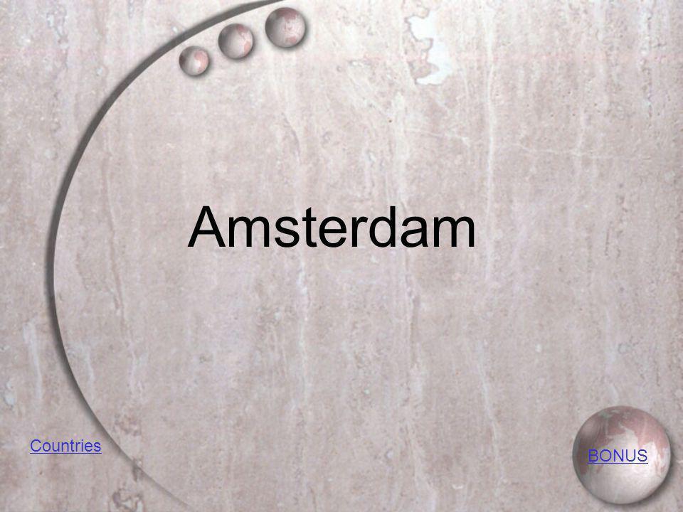 Amsterdam BONUS Countries