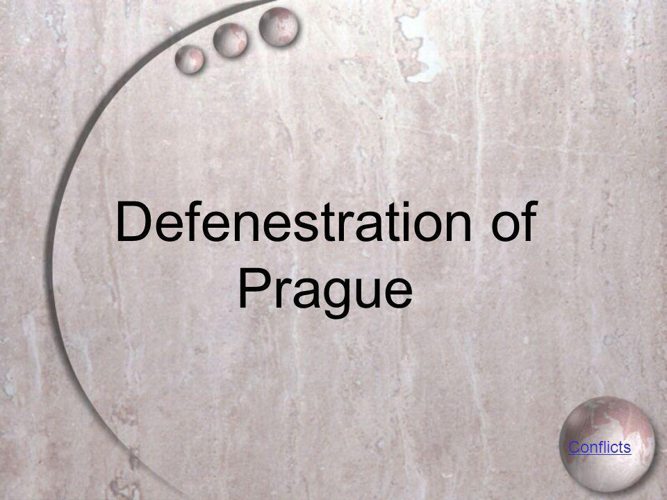 Defenestration of Prague Conflicts