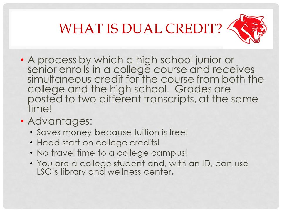 COLLEGE READY? Must be qualified for all DC courses and registered for fall DC courses by May 1, 2014 – No Exceptions.