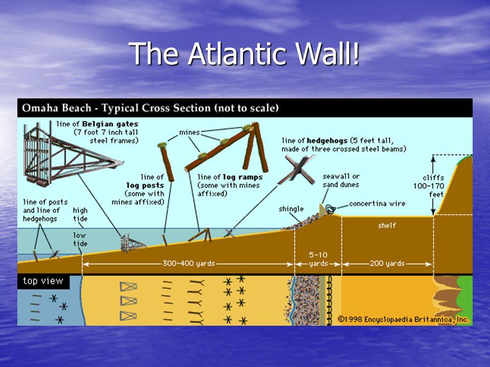 The Atlantic Wall!