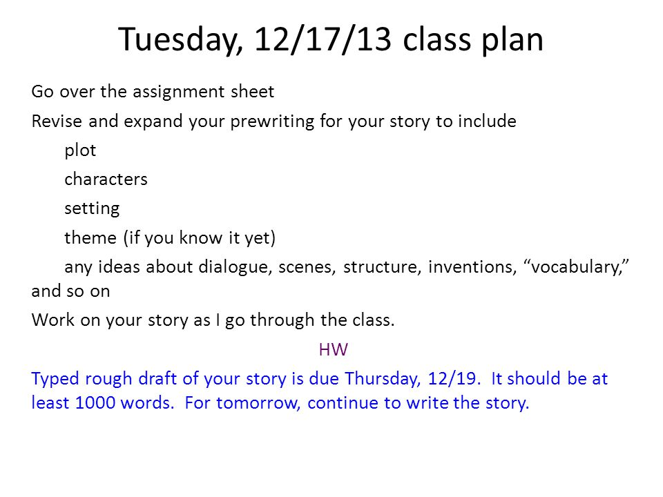 11/5/13class plan Distribute progress report and explain the impact of final draft on grades.