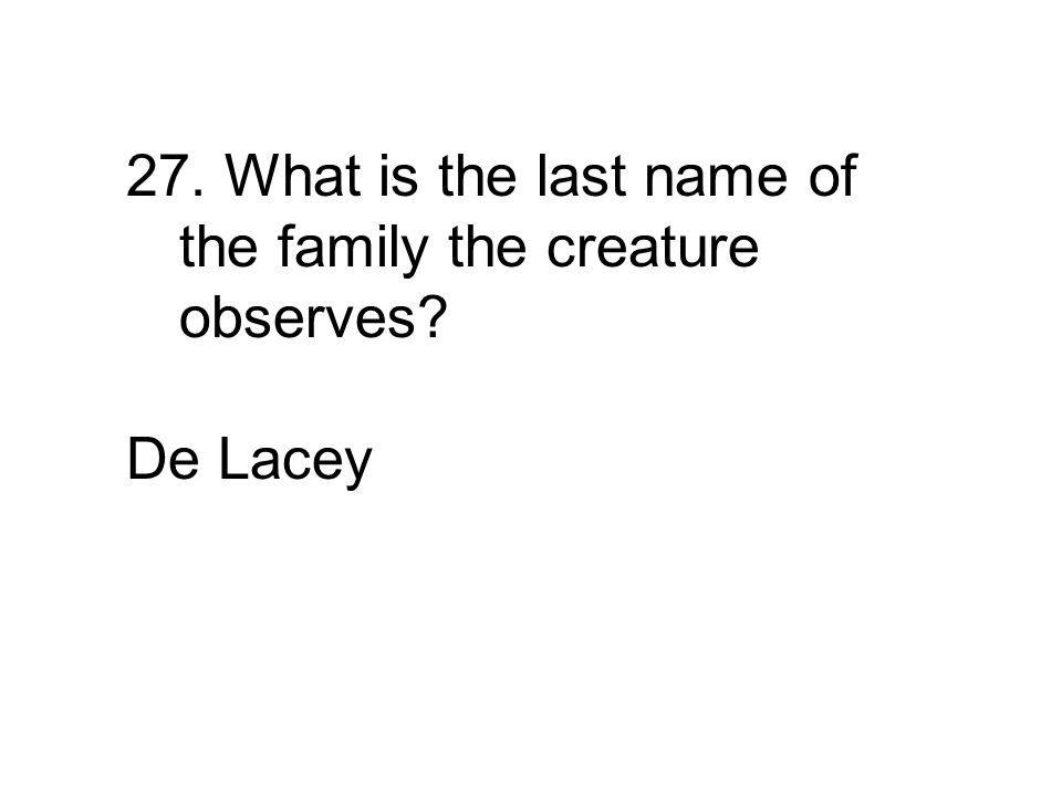 De Lacey