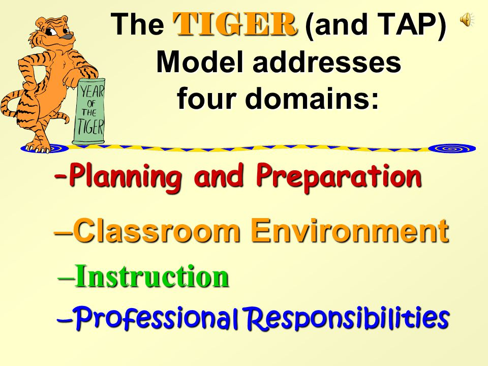 What can keep you from getting top scores on some of the Tiger Model Domains.