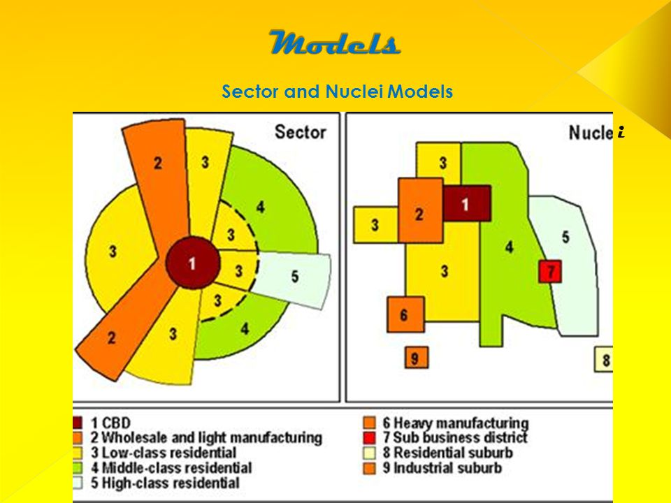 Sector and Nuclei Models i