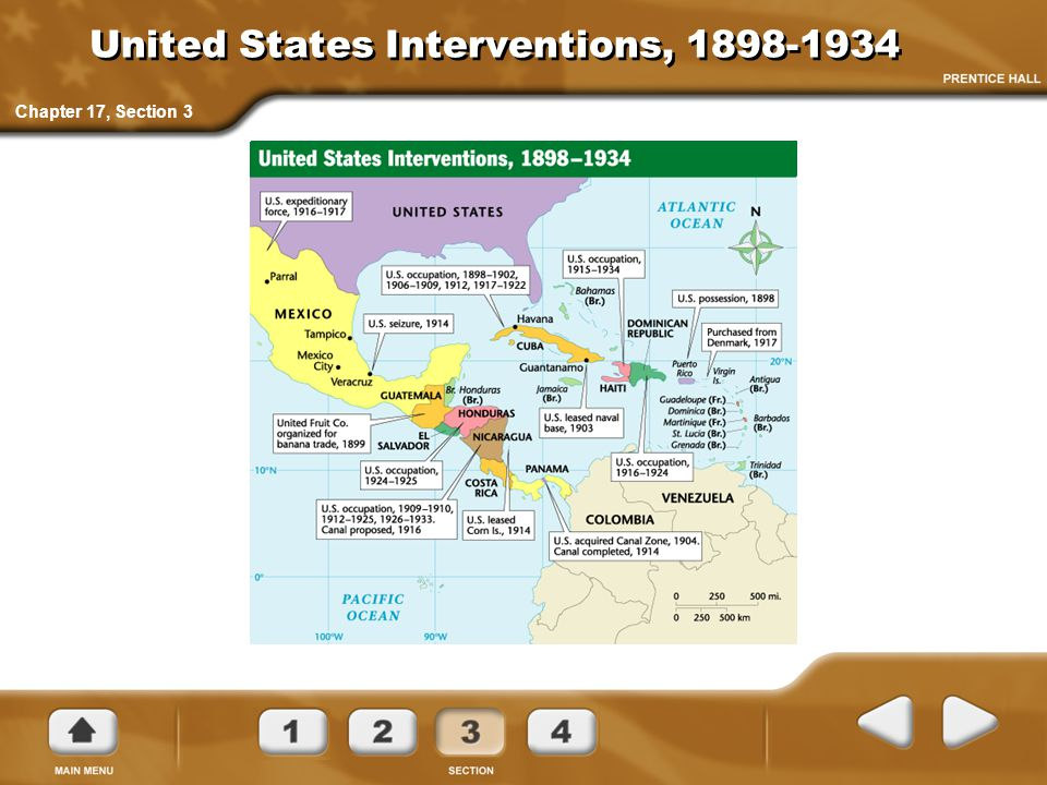 United States Interventions, 1898-1934