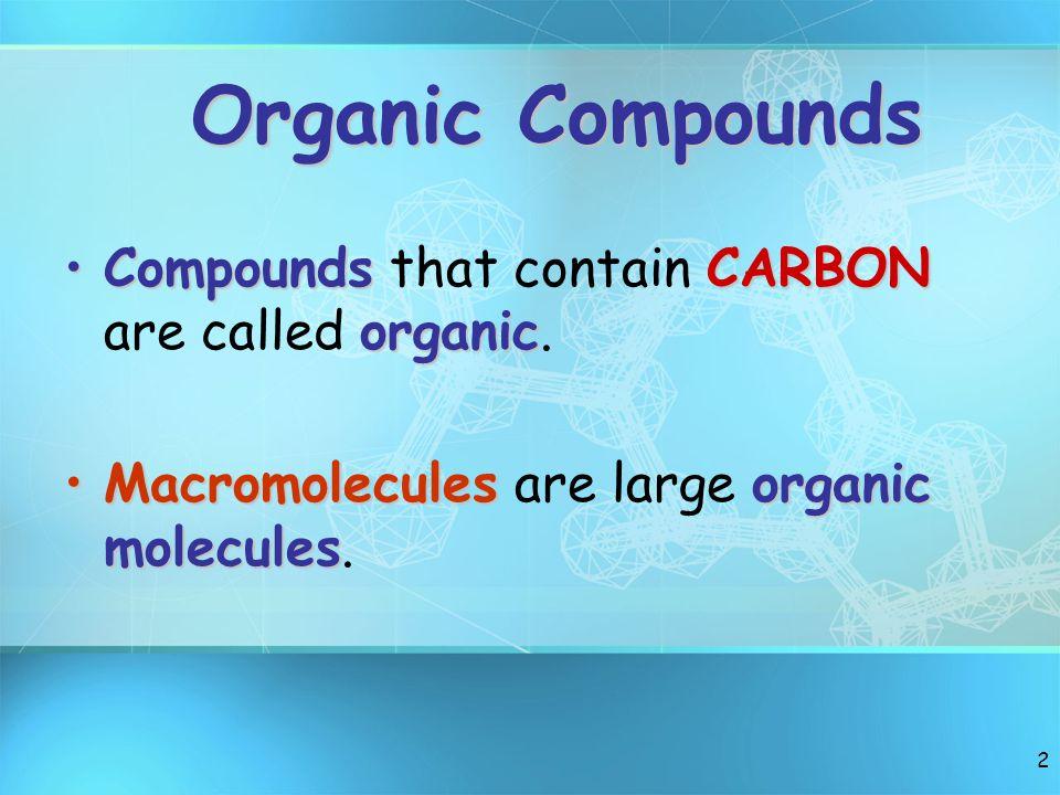 1 Bio-Macromolecules