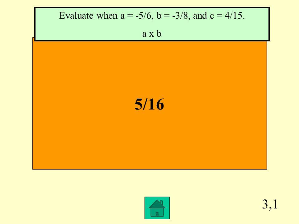 2,4 1 2/5 Simplify. -4/5 + 1/3 -1/3 - 0/5