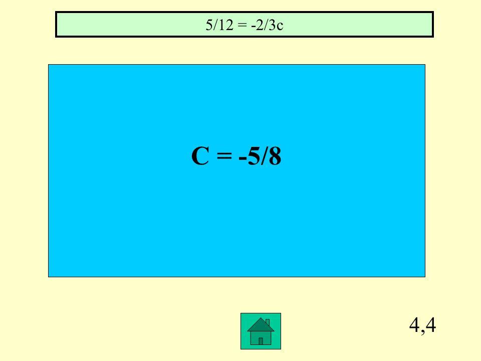 4,3 2 1/8 1 ¾ = 5v – 4v – 3/8