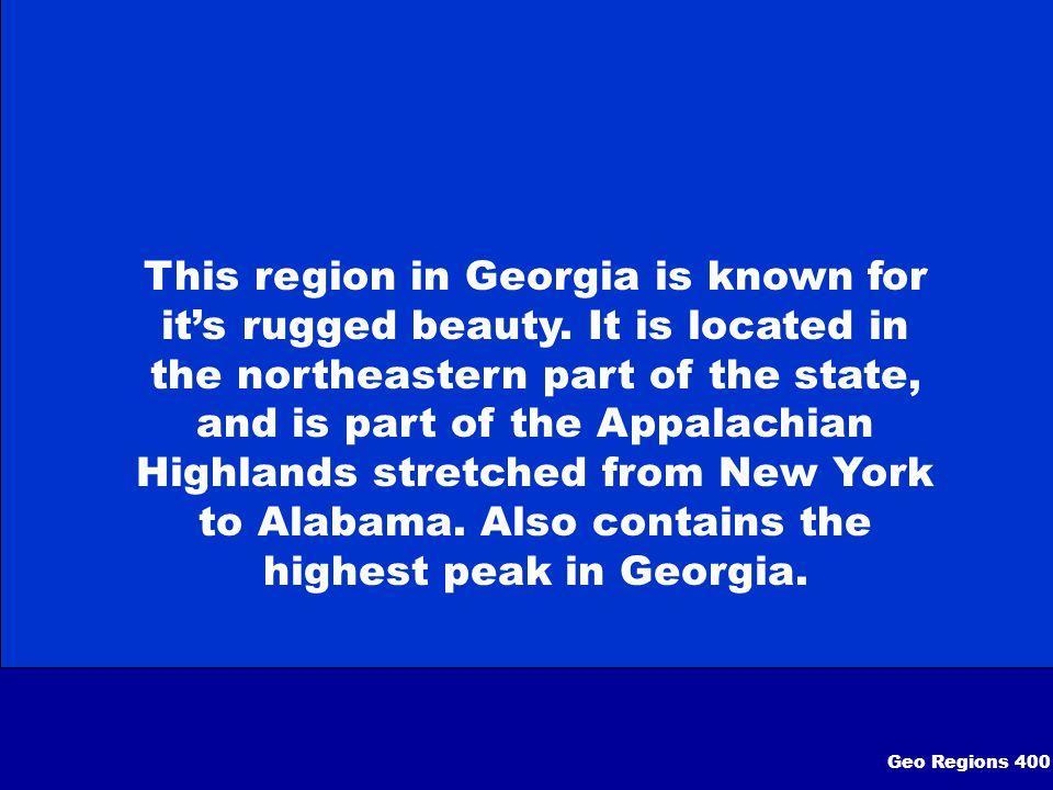 What is The Appalachian Plateau Region Geo Regions 300