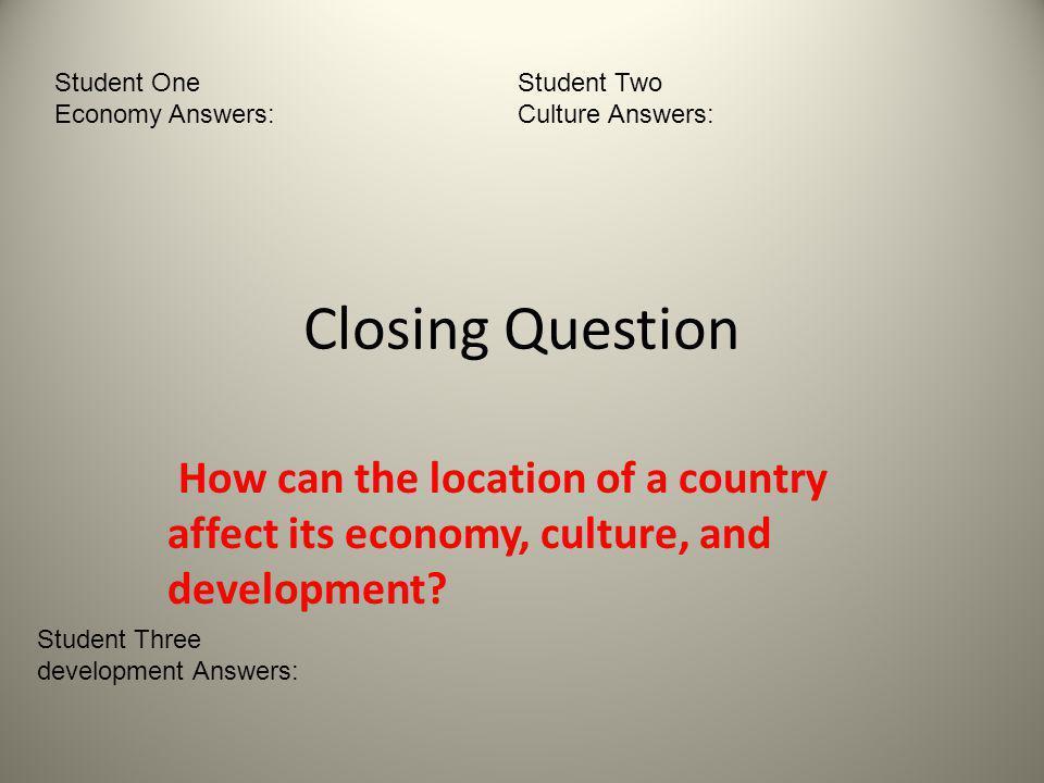 it Economy Student Student One Economy Answers