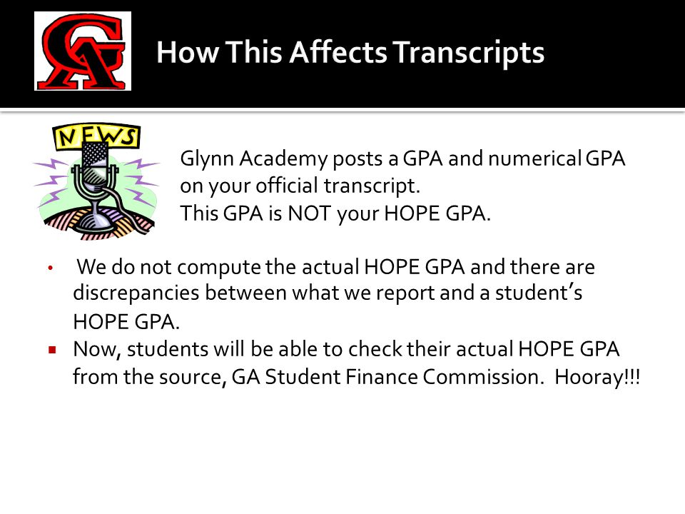  What you need to do:  We've gone ahead and created GACollege411 accounts for all of our students.