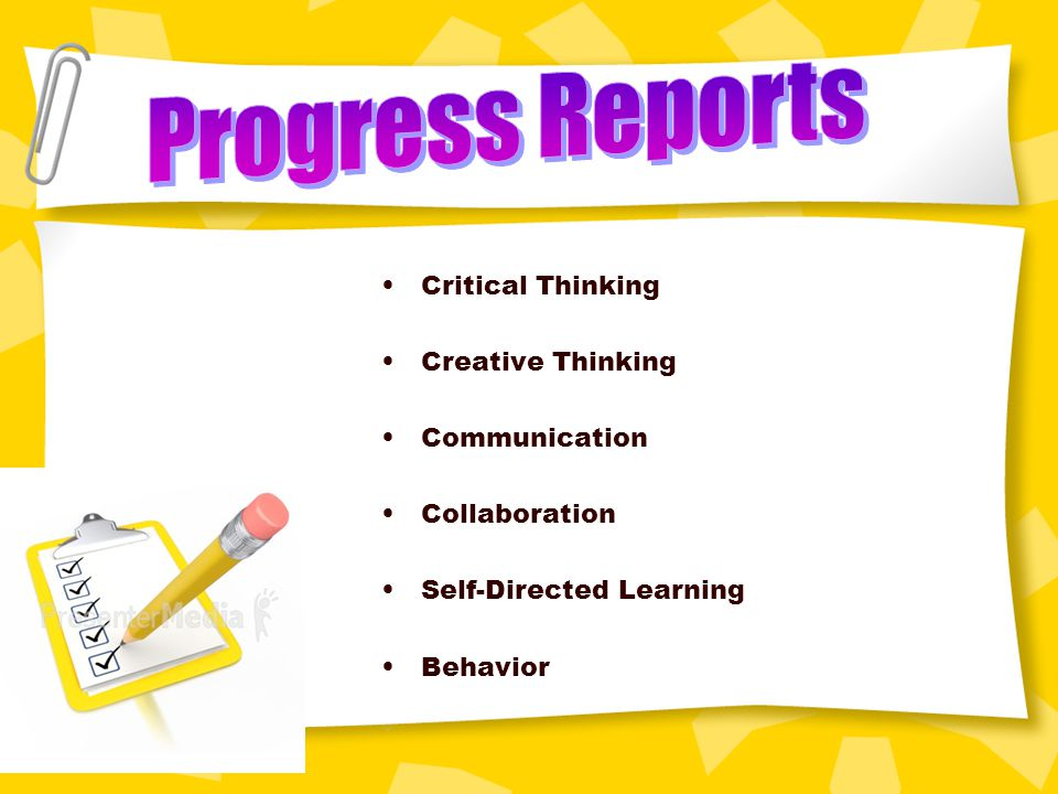 Critical Thinking Creative Thinking Communication Collaboration Self-Directed Learning Behavior