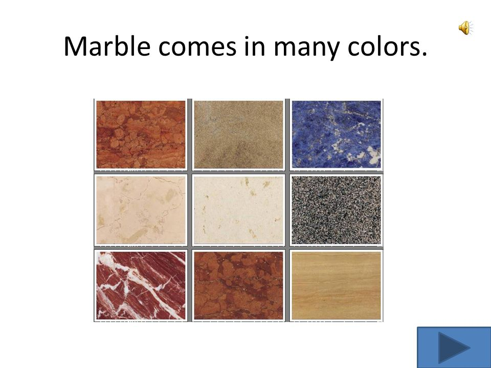 Marble is a metamorphic rock Marble Marble is a metamorphic rock that is formed when limestone is changed.