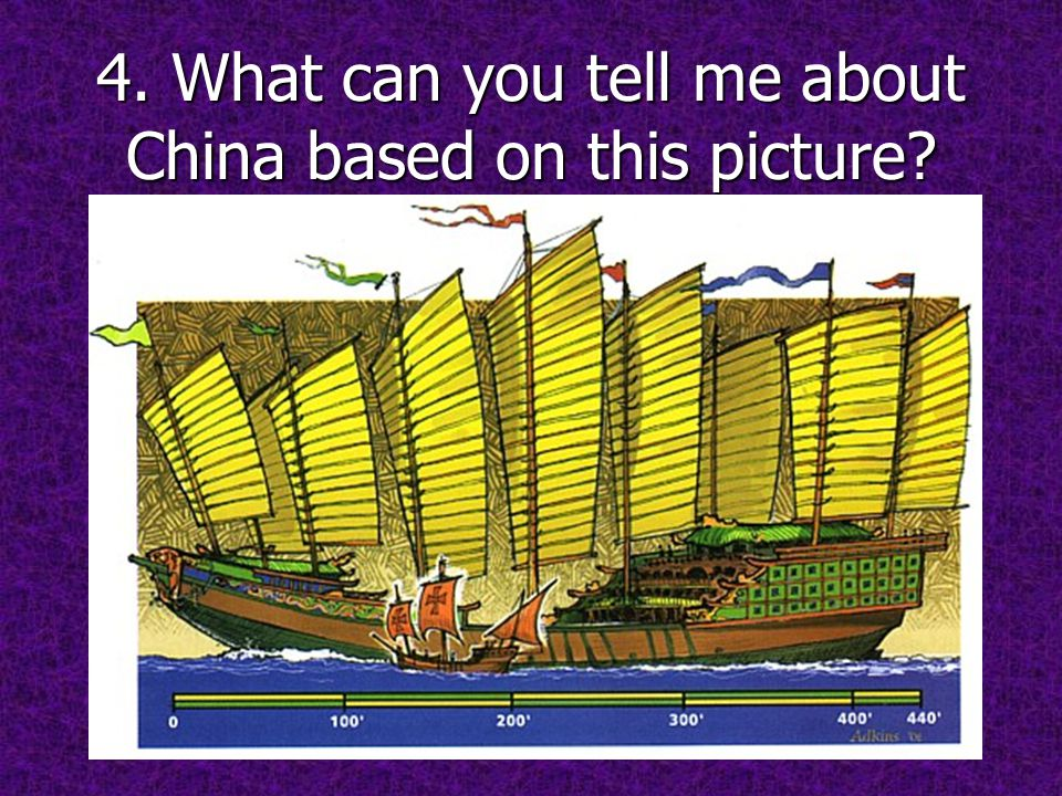 4. What can you tell me about China based on this picture