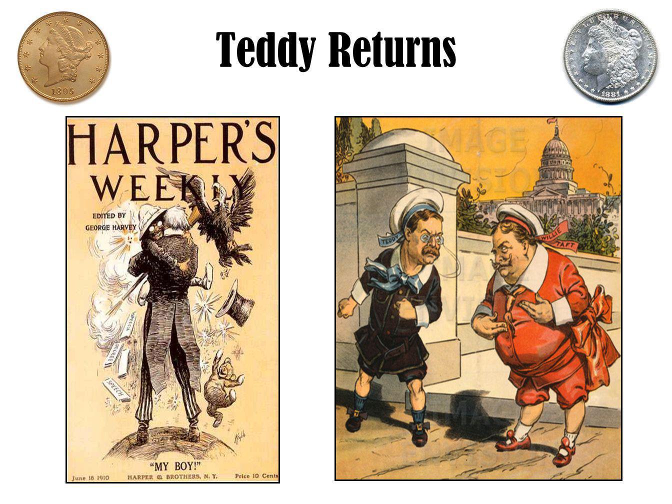 Teddy Returns