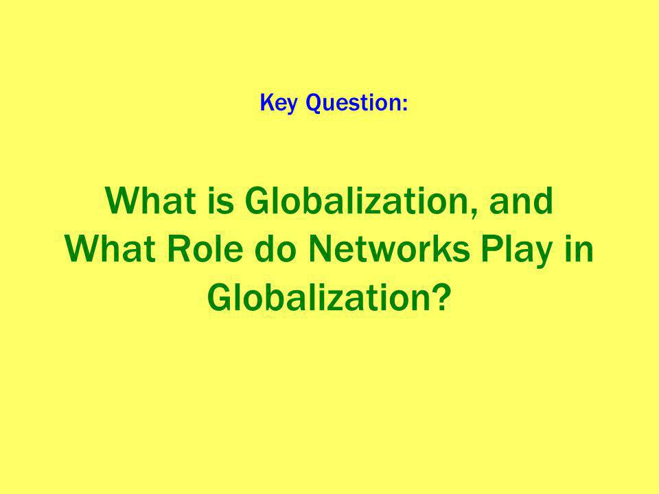 Networks in Media Vertical integration – a corporation that has ownership in a variety of points along the production and consumption of a commodity chain.