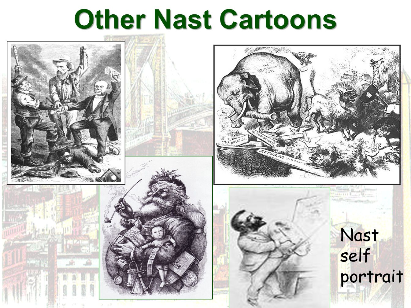 Other Nast Cartoons Nast self portrait