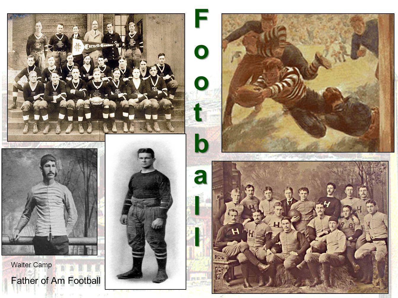 FootballFootballFootballFootball Walter Camp Father of Am Football