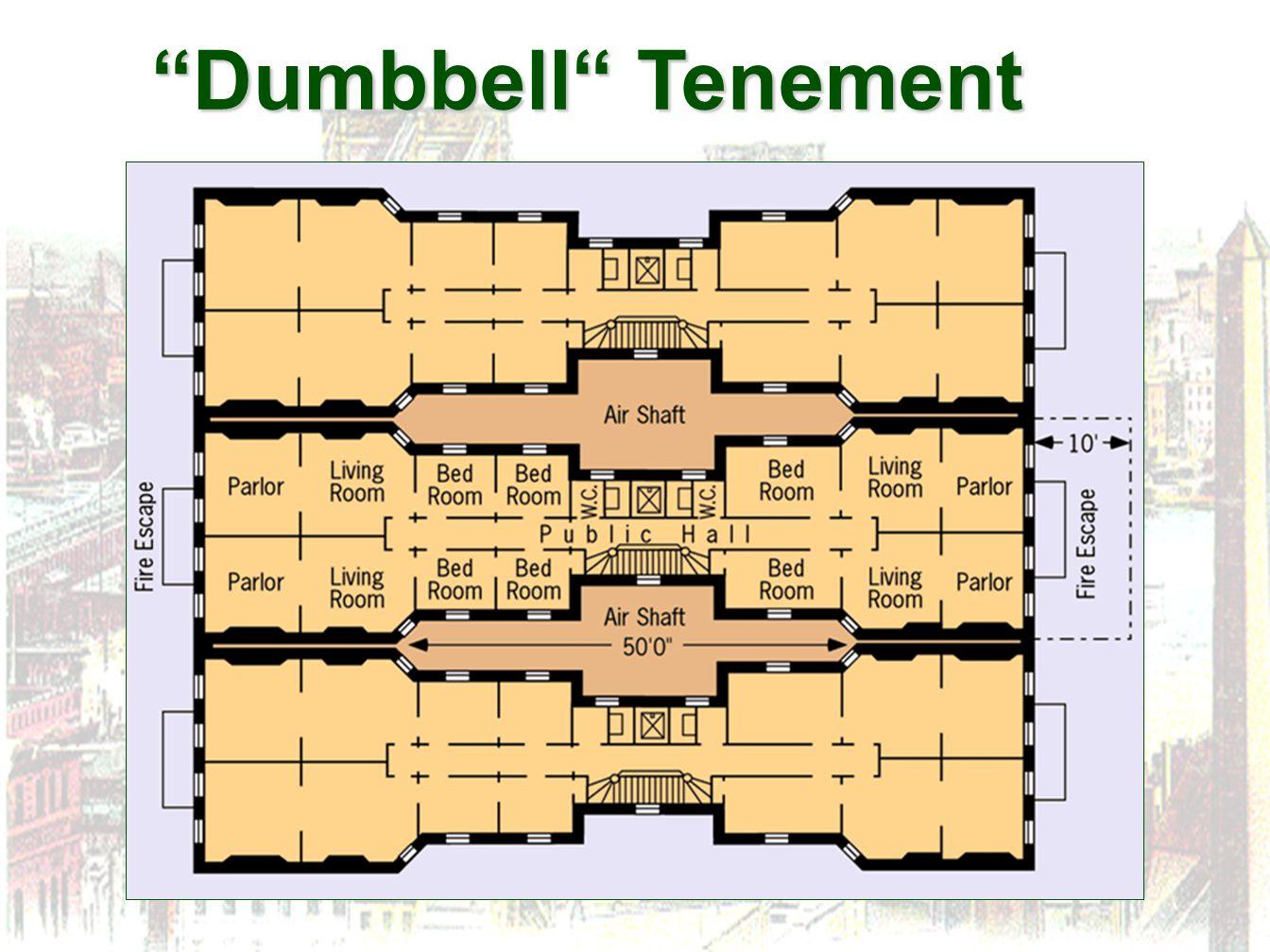 """Dumbbell"" Tenement"