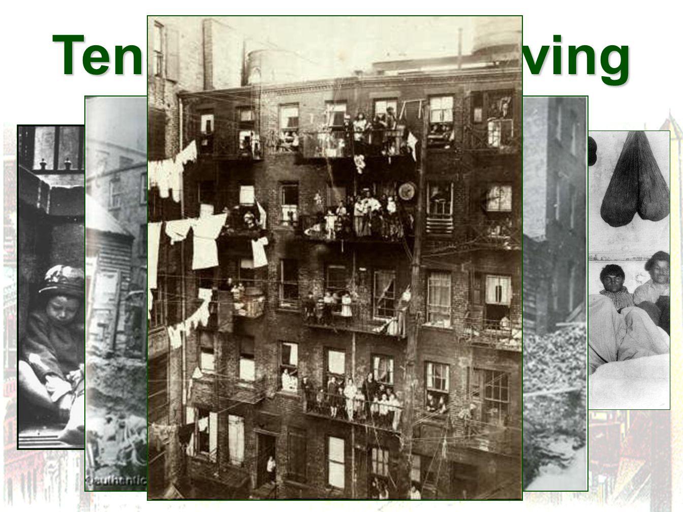 Tenement Slum Living