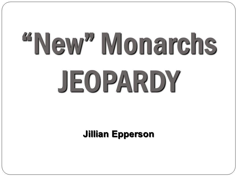 New Monarchs JEOPARDY Jillian Epperson