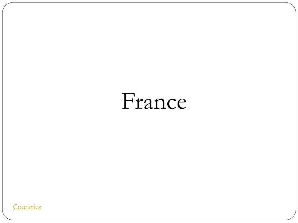 France Countries