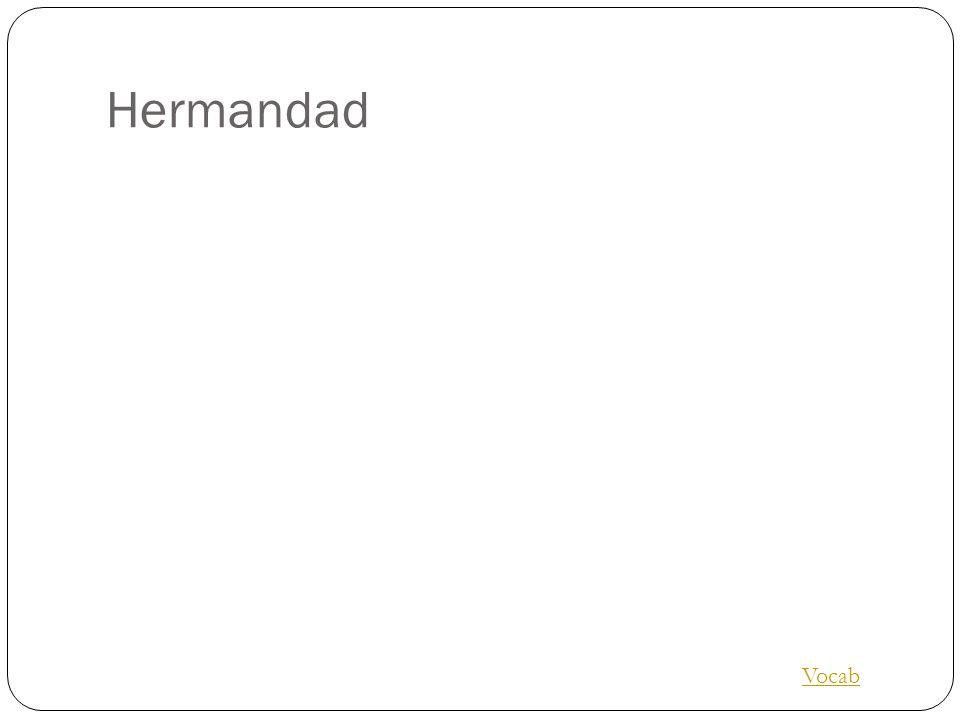 Hermandad Vocab