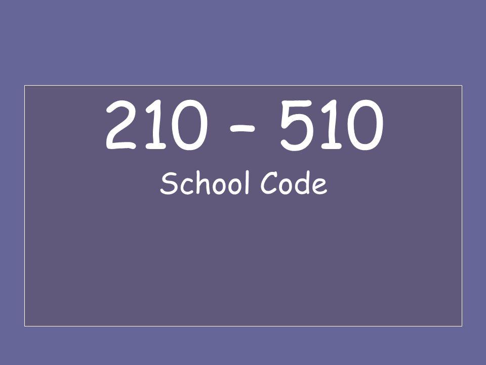 210 – 510 School Code