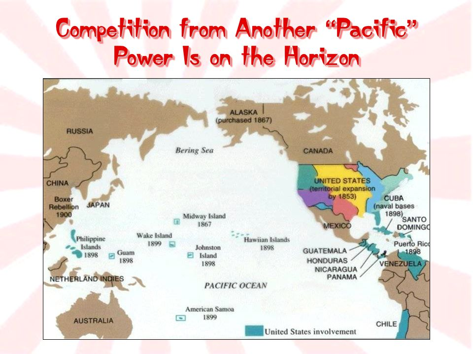 """Competition from Another """" Pacific """" Power Is on the Horizon"""