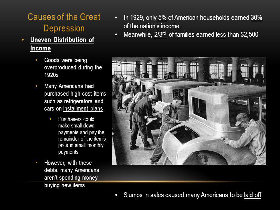a review of the causes of the great depression in america Find helpful customer reviews and review ratings for the great depression: america in the 1930s at amazon analysis of the economic causes of the great depression.