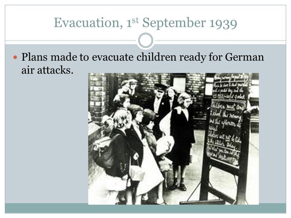 Germany invades Poland, 1 st September 1939