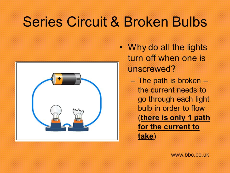 Parallel Circuit What happens to the resistance of the circuit as more branches are added.