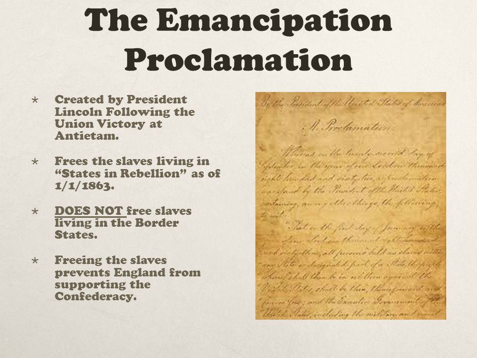emancipation of proclamation essay