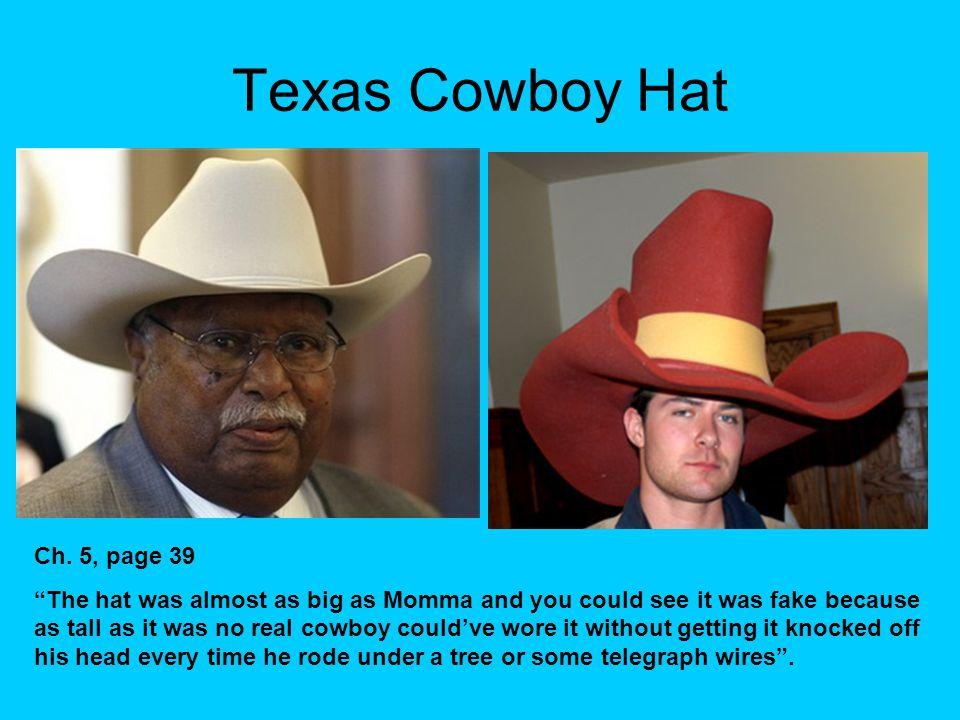 Texas Cowboy Hat Ch.